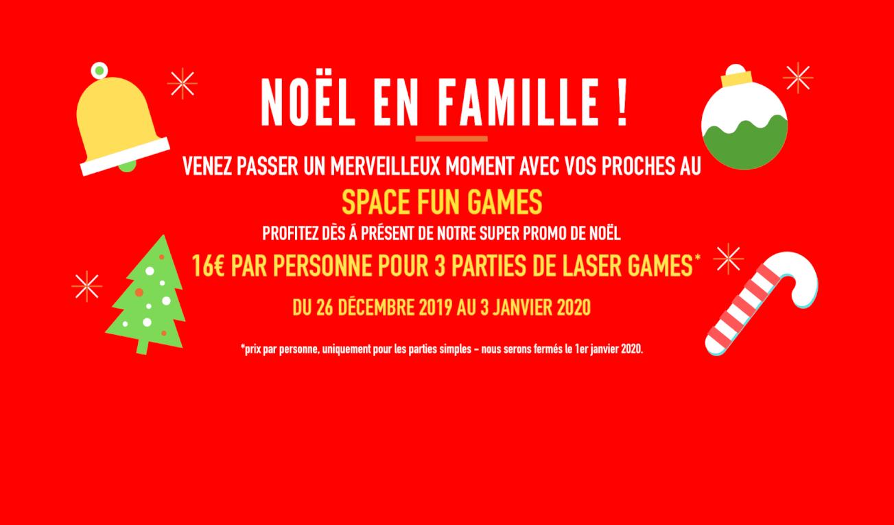 promotion noël space fun game
