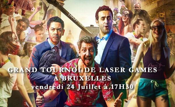 GRAND TOURNOI DE LASER GAMES À BRUXELLES